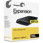 Seagate Expansion 750GB Portable USB 3.0 - $69