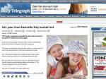 Free Australia Day Bucket Hat with the Sunday Telegraph