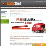 FREE SHIPPING on Purchases over $200 @ Laptopstand.com.au - Enter Coupon Code FREEPOST