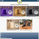 Nespresso* Compatible Coffee Pods 60 for $19.70 Plus Postage on COTD