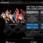 NBA League Pass - 15% off Premium (US $269.99->$229.49) & 10% off Normal (US $219.99->$197.99)
