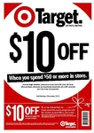 Spend $50 Get $10 off - Target Australia, All Stores