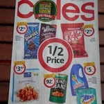 First Coles Catalogue for 2014   Peters Light & Creamy $3.39   Norsca Deodorant $2.99