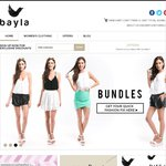 25% off Playsuits, Bottoms, Tops @ Bayla