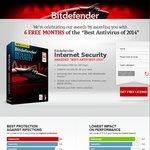 6 Months Free Bitdefender Internet Security
