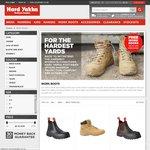 Free Work Socks with Hard Yakka Work Boots