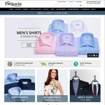T.M. Lewin  - 15% off Everything (Suits & Shirts) Online + Free Delivery Shipping