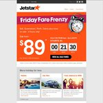 Jetstar Perth/Cairns/Queensland to Bali - $89 (Starts 4pm Today)