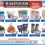 Onions 10KG $3, Leb Cucumbers $2/Kg, Finish Classic 110pk $15 @ Basfoods Brunswick (VIC)