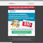 Kogan Partner Offer: Switch Your Electricity and Gas Provider with GoSwitch and Receive a $50 Kogan Voucher