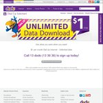 Dodo Dial up Internet, $1 / Month, Unlimited Data