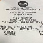 Star Wars: The Force Awakens Blu-ray - $23 @ Big W