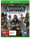 [Xbox One] Assassin's Creed Syndicate Special Edition Game $37 (Was $89.95) @ SellingOutSoon eBay Group Deal