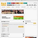10% off PAX AUS Badges/Tickets