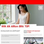 Win 1 of 2002 AIRism Bra Tops or 1 of 10,000 $10 off $75 Online Codes from UNIQLO [QLD]