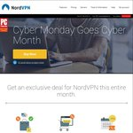 NordVPN Black Friday Deal ~$97 AUD ($72 USD) for 2 yrs (75% off)