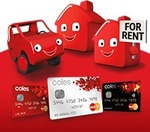 Coles Rewards Mastercard - Bonus 20000 Flybuys $89 Annual Fee, 3 Flybuys Per $ Spend for 6 Months
