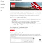 Qantas Double Points on All Eligible Flights & Classes Worldwide