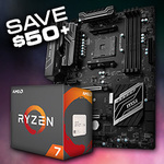 Ryzen 1700X + MSI X370 Bundle PCCG $699 + Shipping @ PC Case Gear
