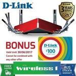 D-Link DIR-895L AC5300 Ultra Tri Band Gigabit Cloud Router $424.15 @Wireless 1 eBay Store + $100 E-Gift Card by Redemption