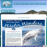 Winter Wonders Whale Watch & Accommodation Package - Nelson Bay Port Stephens NSW - from $420/Couple @ Admiral Nelson