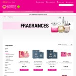 Priceline - up to 60% off All Fragrance Including Gift Sets 29 and 30 August Eg Guess Homme 100ml $23