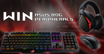 Win 1 of 2 ASUS ROG Peripheral Bundles Worth $440 from ASUS ROG UK/The Tech Chap/PC Centric
