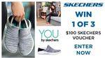 Win 1 of 3 $100 Skechers Vouchers from Seven Network