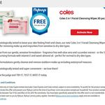 FREE Coles 3 in 1 Facial Cleansing Wipes 30 Pack