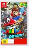 Target eBay - Super Mario Odyssey for Nintendo Switch - $62.10 Delivered