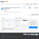 EASEUS Partition Master Professional (2 Licenses, Lifetime Upgrades) USD $32.97 or AUD $47.26