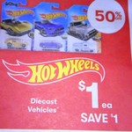 Hot Wheels Vehicles Assorted $1 Each, Vodafone Nokia 3 + $30 Starter $139 @ Big W