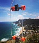 Clear Usable Skateboard - Diamond Decks for $233.75 Shipped @ The Toys Collective