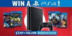 Win a PlayStation 4 with Four Games from Soedesco