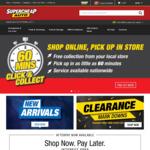 20% off Sitewide @ Supercheap Auto