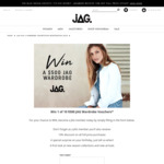Win 1 of 10 $500 Gift Vouchers from JAG