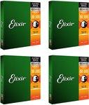 4 Packs of Elixir Nanoweb Bass 4 Strings Set $239 Delivered @Gsus4