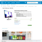 """Dell 23"""" Monitor S2318H (1080p IPS 60hz LED) $195 (Inc 3 Yr Advanced Exchange Service, Technical Support) Shipped @ Dell"""