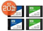 WD SSD 120GB $47.2|240GB $92.4|500GB $168, AMD Ryzen 1600 $228|1700 $340, Gigbyte GTX1060 6GB $431.2, Samsung U28E590D $436 @ SE