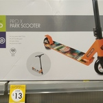 "[QLD] Active & Co ""Pro X Park"" Scooter $13 - Alloy Deck, 100kg Capacity (Was $69 & Clearance $19) @ Kmart Helensvale"