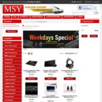 MSY Weekday Deals - AMD RX 580 + Crucial MX500 250GB SSD Bundle $489, GALAX 8GB GTX 1070 TI HOF Edition $719