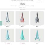 50% off Across All Turkish Towels (from NZ $19.95/~AU $18.15) + Free Shipping @ Koza Towels