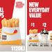 $1 Small Chips, $2 Small Sundae, $3 Whopper Jr at Hungry Jacks (Excluding Townsville)