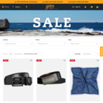 Johnny Bigg up to 70% off - Ties from $9.99, Belts from $19.99 - Free Shipping over $100 or C&C