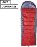 Caribee Snow Drift Jumbo Left-Zip Sleeping Bag $39.95 or Right Zip $34.95 + Shipping (Free with Club Catch) @ Catch