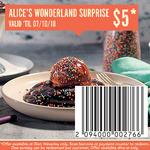 [VIC] Alice's Wonderland Surprise Pancakes $5 @ Pancake Parlour (Glen Waverley)