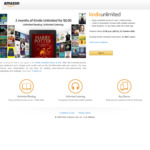 Get 2 Months Free Access (Save $28) of Kindle Unlimited @ Amazon (Non-Existing Users)