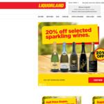 Free Standard Delivery Sitewide @ Liquorland (no minimum spend)