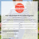 Win 1 of 5 Prizes ($300 Rockport Voucher/ Prevention Mag Seminar DP/ Prevention Mag Subscription) from Rockport