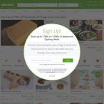 15% off Sitewide (Max Discount $40, Unlimited Redemptions) @ Groupon